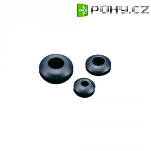 Průchodka KSS GMR1410, 19,5 x 13,9 x 10,5 x 6,4 x 3,4 mm, černá