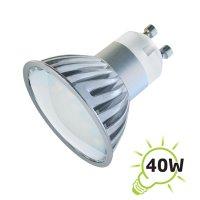 Žárovka LED GU10/230V 27SMD 4W - bílá studená