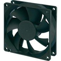Voděodolný axiální ventilátor, RD8025B12L, 12 V, 26 dBA, 80 x 80 x 25 mm