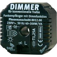 Bezdrátový stmívač pro konvenční trafa FreeControl, 801200025, 1kanálový, 300 W