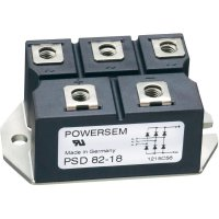 Můstkový usměrňovač 3fázový POWERSEM PSD 62-12, U(RRM) 1200 V