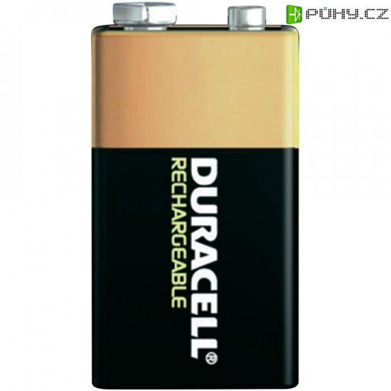 Akumulátor Duracell 9 V, NiMH, 170 mAh - Kliknutím na obrázek zavřete