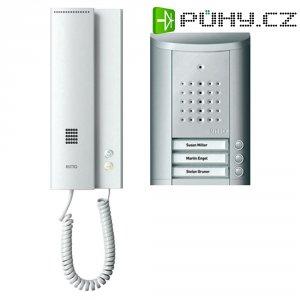 Domácí telefon Ritto Schneider, 1841320, 3 rodiny, stříbrná