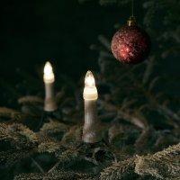 Vánoční řetěz vnější Konstsmide, 25 žároviček, 1,83 m, 75 W, teplá bílá