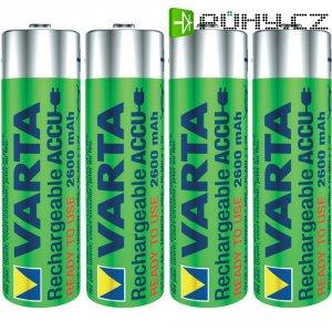 Akumulátor Varta Professional Ready2Use, NiMH, AA, 2600 mAh , 4 ks