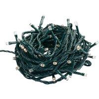 Vnitřní vánoční řetěz, 96 LED, 11,5 m, teplá bílá
