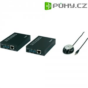 HDMI+ethernet převodník na síťový kabel CAT5e/6 do 100 m