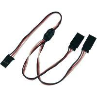 Y kabel Modelcraft, konektor Futaba, 30 cm, 0,14 mm²