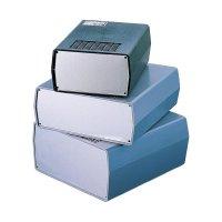 Malý plastové pouzdro TEKO, (A x B x C x D x E) 170 x 177 x 198 x 192 x 90 mm, šedá (AUS 23)