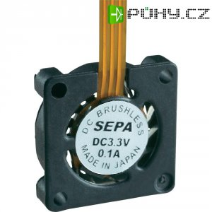 Mikro ventilátor SEPA HY_10A03A-ST, 10 x 10 x 2 mm, 3,3 V/DC