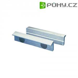 Magnetické fixační čelisti Heuer 110100, 100 mm, hliník, 2 ks