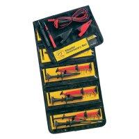 Sada měřicích kabelů banánek 4 mm ⇔ banánek 4 mm Fluke TLK-225-1, 1,5 m, černá/červená