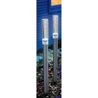 Solární zahradní LED svítidlo Esotec Twin, 102064, stříbrná, zapichovací, 2 ks