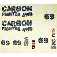 Karoserie RC modelu Reely Carbon Fighter, 1:6, černá