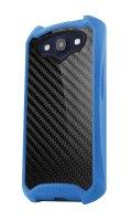 Itskins Atom Sheen Carbon Blue pro Samsung i9300 Galaxy S3