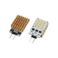 LED žárovka SIDELED 2 W LEDxON SideLED 2W BLAU, 2 W, 12 V AC/DC, modrá