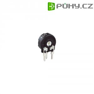Miniaturní trimr Piher, vertikální, PT 10 LH 10R, 100 Ω, 0,15 W, ± 20 %