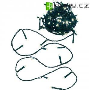 Venkovní vánoční mikro řetěz, 40 LED, 6 m, teplá bílá