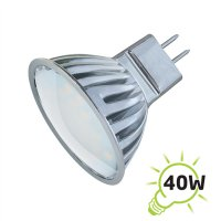 Žárovka LED MR16/12V 27SMD 4W - bílá studená