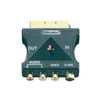 Adaptér Scart/S-VHS/FBAS/Audio Oehlbach