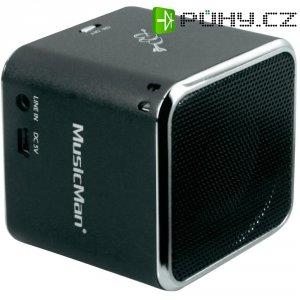 Mini bezdrátová sound stanice Technaxx MusicMan ® BT-X2, černá