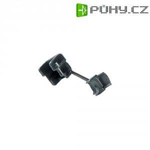Kabelová průch. PB Fastener 77021, 12,7 x 13,1 x 11,4 x 11,1 x 1,6 mm, černá