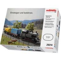 Startovací sada H0 nákladního vlaku a parní lokomotivy Märklin World 29214