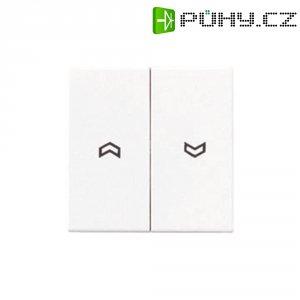 Kryt tlačítka pro ovládání žaluzií Jung, A595PWW, bílá