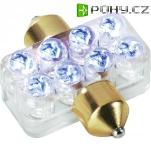 LED sufitová žárovka, 8 LED
