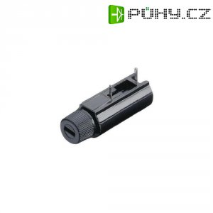 Držák pojistky rozměru 5 x 20 mm, 250 V/AC, 6,3 A, ležatý