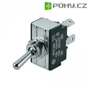 Páčkový spínač SCI R13-28A-01, 250 V/AC, 10 A, 1 ks
