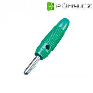 Banánkový konektor 4 mm, BKL Electronic 072152-P, zelená