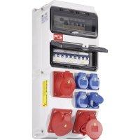 Plastový rozbočovač s jističem Strobl BV PCE, 9025340, 400 V, 2x32 A, IP54