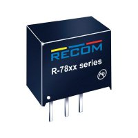 DC/DC měnič Recom R-7815-0.5, výstup 15 V/DC / 0,5 A, vstup 18 - 34 V/DC, SIP 3