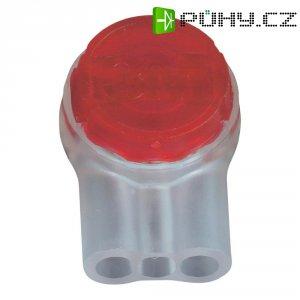 Svorka 3M Scotchlok, UR2, 0,13 - 0,65 mm², 3pólová, červená