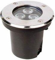 Podhledové světlo LED 3x1W,bílé, 230V/3W, krytí IP65