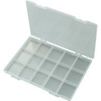 Box na součástky EKB-103, 285 x 209 x 23 mm, transparentní (difuzní)