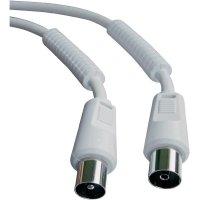 Koaxiální připojovací kabel s filtrem plášťového proudu