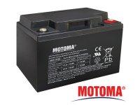Baterie olověná 12V 40Ah MOTOMA bezúdržbový akumulátor