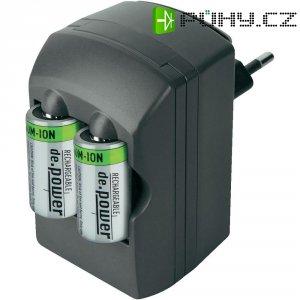 Nabíječka De.power CHG-Set 01 + 2x akumulátor CR123, 500 mAh