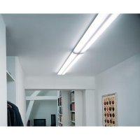 Stropní svítidlo Osram Lumilux Duo EL-F/R, 2x 58 W, stříbrná/šedá