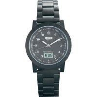Ručičkové náramkové DCF hodinky Eurochron EFAUT 6500, titanový pásek