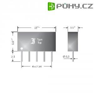 Usměrňovací diodové pole Diotec DAN401, U(RRM) 80 V, 4 x 50 mA