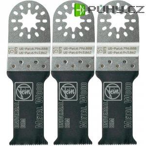 Univerzální bimetalový pilový list E-Cut, 29 mm, 3 ks