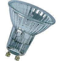 Halogenová žárovka Osram, 230 V, 50 W, GU10, Ø 50,5 mm, stmívatelná, teplá bílá, 3 ks