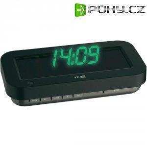 DCF hodiny s 3D efekty TFA, 60.5009.05, 84 x 165 mm, černá