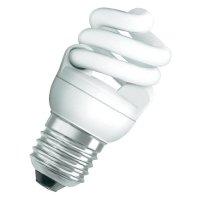 Úsporná žárovka spirálová Osram Superstar E27, 7 W, studená bílá