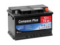 Autobaterie COMPASS PLUS 12V 72Ah 640A