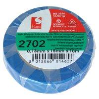 Izolační páska samozhášecí 10m modrá