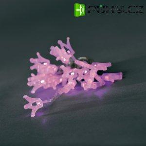 Vánoční mini řetěz purpurový Konstsmide, 24 LED, 5,3 m